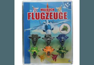 Produktbild Malbuch und Plastikflugzeuge  Sachbuch (Broschur)