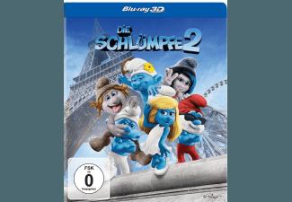 Produktbild Die Schl�mpfe 2 (Steelbook Edition) - (3D Blu-ray)