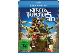 Produktbild Teenage Mutant Ninja Turtles - (3D Blu-ray (+2D))