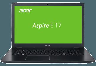 Produktbild ACER Aspire E 17 (E5-774-38X2), Notebook mit 17.3 Zoll Display, Core� i3 Prozessor, 8 GB RAM, 1