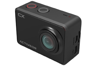 Produktbild ACTIVEON CCA10W CX + Fastcut Software Actioncam  WLAN  Schwarz