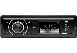 Produktbild AEG. AR 4027  Autoradio  1 DIN  Ausgangsleistung/Kanal: 80