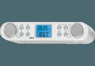 Produktbild AEG. KRC 4344  Radio  Weiß