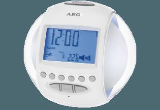 Produktbild AEG. MRC 4117  Uhrenradio  Weiß