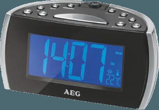 Produktbild AEG. MRC 4119 P N  Uhrenradio  Schwarz