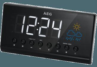 Produktbild AEG. MRC 4141  Uhrenradio  Schwarz