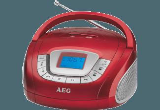 Produktbild AEG. SR 4373  Radiorecorder  Rot