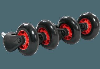 Produktbild AKRACING Rollerblade Casters  Schwarz/Rot