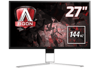 Produktbild AOC AG 271 QX  Monitor mit 68.6 cm / 27 Zoll QHD Display  1 ms Reaktionszeit  Anschlüsse: 1x D-Sub