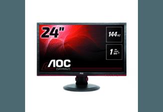 Produktbild AOC G2460PF  Gaming-Monitor mit 61 cm / 24 Zoll Full-HD Display  1 ms (Grau zu Grau) Reaktionszeit