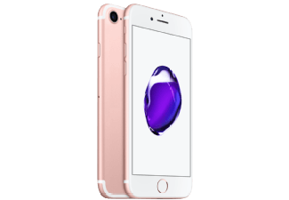 Produktbild APPLE iPhone 7  Smartphone  128 GB  4.7 Zoll  Rosegold