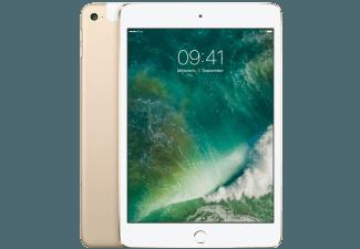 Produktbild APPLE MK8F2FD/A iPad mini 4 WiFi + Cellular  Tablet mit 7.9 Zoll  128 GB Speicher  3G