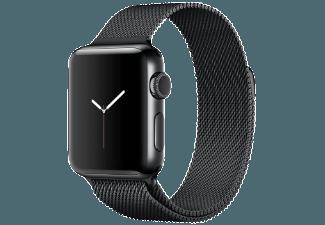 Produktbild APPLE Watch Series 2 38 mm  Smart Watch  Edelstahl Milanese Armband