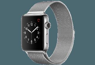 Produktbild APPLE Watch Series 2 42 mm  Smart Watch  Edelstahl Milanese Armband