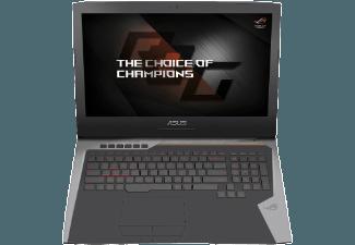 Produktbild ASUS G752VS(KBL)-BA336T, Gaming-Notebook mit 17.3 Zoll Display, Core� i7 Prozessor, 8 GB RAM, 1