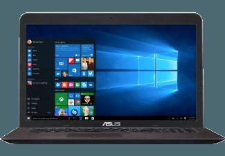 Produktbild ASUS R753UX-T4240T, Gaming-Notebook mit 17.3 Zoll Display, Core� i5 Prozessor, 16 GB RAM, 1.000