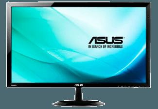 Produktbild ASUS VX248H  Monitor mit 61 cm / 24 Zoll Full-HD Display  1 ms Reaktionszeit  Anschlüsse: 1x VGA