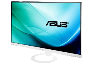 Produktbild ASUS VX279H-W  Monitor mit 68.6 cm / 27 Zoll Full-HD Display  5 ms Reaktionszeit  Anschlüsse: 1x