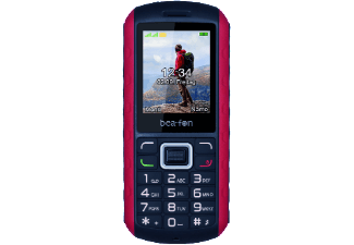 Produktbild BEAFON AL550  1.8 Zoll  Schwarz/Rot