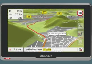 Produktbild BECKER active.6s CE  PKW Navigationsgerät  6.2 Zoll  Kartenmaterial Zentraleuropa  20 Länder