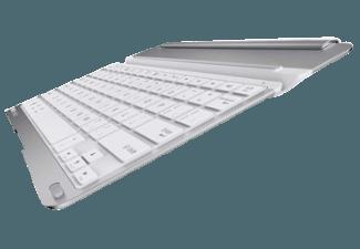 Produktbild BELKIN F5L155DEGRY Fast Fit  Tastatur