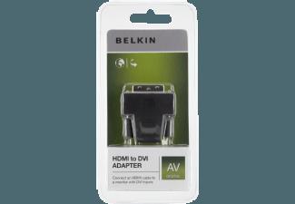 Produktbild BELKIN HDMI to DVI Adapter schwarz F2E4162CP2
