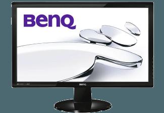 Produktbild BENQ GL2450  LED-TFT mit 60.9 cm / 24 Zoll Full-HD Display  5 ms Reaktionszeit  Anschlüsse: 1x