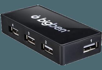 Produktbild BIGBEN BB351774 USB Multi-Hub 4fach + Netzteil