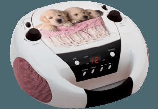 Produktbild BIGBEN CD52  Radiorecorder  Weiß/Dogs-Design