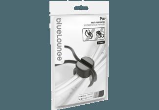 Produktbild BLUELOUNGE Pixi 8er Pack kurz 4x 12 cm grau / 4x 20 cm schwarz  Kabelhalterung