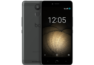 Produktbild BQ Aquaris U Plus  (16 GB +2 GB RAM)  Smartphone  16 GB  5 Zoll  Schwarz/Anthrazitgrau