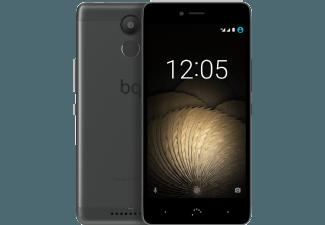Produktbild BQ Aquaris U Plus  Smartphone  32 GB  5 Zoll  Schwarz/Grau