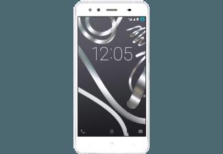 Produktbild BQ Aquaris X5  Smartphone  16 GB  5 Zoll  Weiß/Silber  LTE