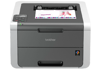Produktbild BROTHER HL-3142CW  Laserdrucker (Farbe)  Grau