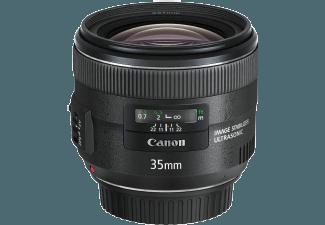 Produktbild CANON EF 35mm f/2 IS USM 35 mm Objektiv f/2  System: Canon EF  Bildstabilisator