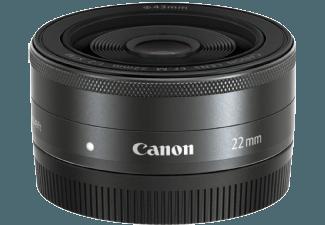 Produktbild CANON EF-M 22mm 2.0 STM für EOS-M 35 mm f/2  Weitwinkel  System: Canon EF-M