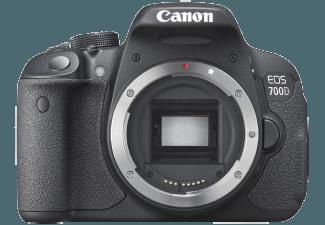 Produktbild CANON EOS 700D Geh�use Spiegelreflexkamera  18 Megapixel  CMOS Sensor  nur Geh�use  Autofokus