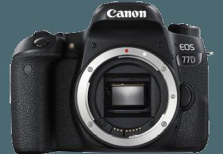 Produktbild CANON EOS 77D Gehäuse Spiegelreflexkamera  24.20 Megapixel  Full HD  Externer Blitzschuh  Near