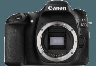 Produktbild CANON EOS 80D Gehäuse Spiegelreflexkamera  24.2 Megapixel  CMOS Sensor (IS)  Autofokus