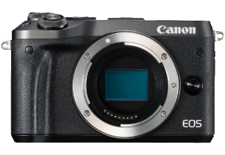 Produktbild CANON EOS M6 Gehäuse Systemkamera  24.2 Megapixel  Full HD  HD  VGA  CMOS Sensor  Externer
