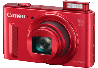 Produktbild CANON Power Shot SX610 HS Kompaktkamera  20.2 Megapixel  18x opt. Zoom  Back Illuminated CMOS