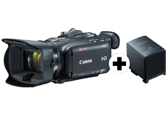 Produktbild CANON XA30 Power Kit  Camcorder  HD CMOS PRO Sensor  20x opt. Zoom  WLAN