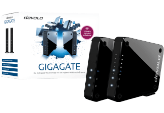 Produktbild DEVOLO GigaGate Starter Kit  WLAN Repeater  Access Point