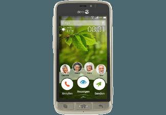 Produktbild DORO 8031  Smartphone  8 GB  4.5 Zoll  Champagner  LTE