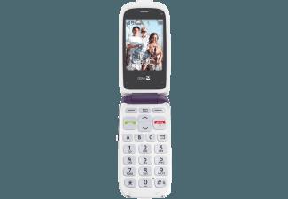 Produktbild DORO PhoneEasy 612  2.5 Zoll  Aubergine