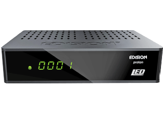 Produktbild EDISON Proton LED HDTV Sat-Receiver  Schwarz