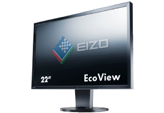 Produktbild EIZO EV2216WFS3-BK  Monitor mit 55.88 cm / 22 Zoll  5 ms Reaktionszeit  Anschlüsse: 1x USB (Hub)