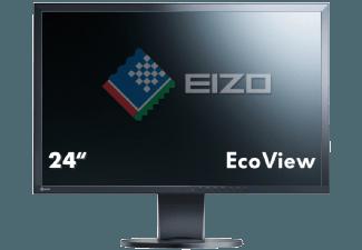 Produktbild EIZO EV2416W  IPS-Monitor mit 61 cm / 24 Zoll Full-HD Display  5 ms Reaktionszeit  Anschlüsse: 1x