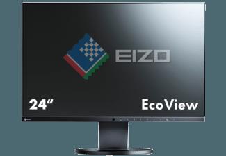 Produktbild EIZO EV2455-BK  LCD mit 61.21 cm / 24.1 Zoll  5 ms Reaktionszeit  Anschlüsse: 1x DisplayPort  1x
