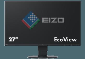 Produktbild EIZO EV2750-BK  Monitor mit 68.5 cm / 27 Zoll WQHD Display  5 ms Reaktionszeit  Anschlüsse: